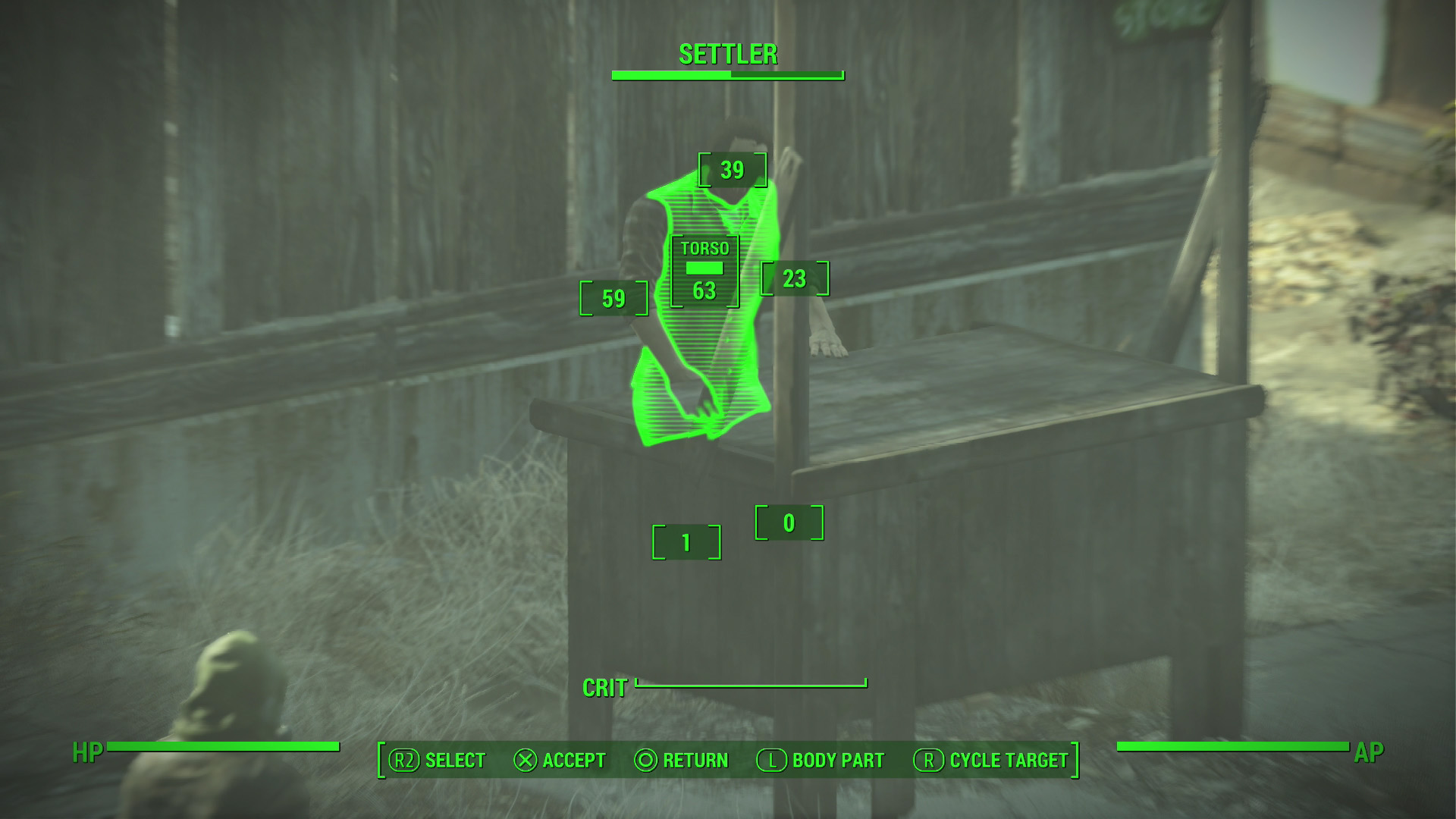Fallout 4 V.A.T.S.