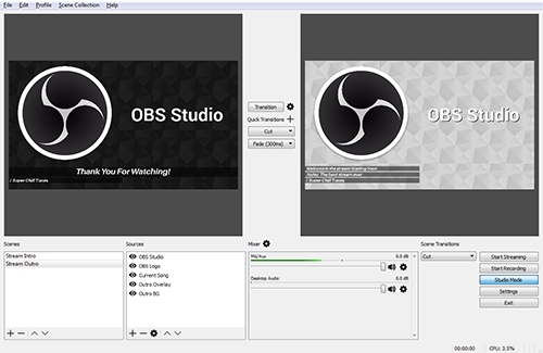 OBS Open Broadcaster Software