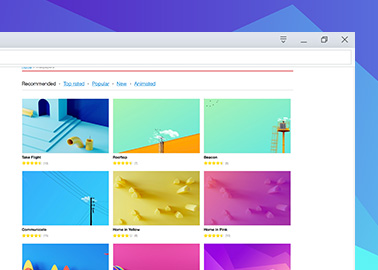 Customize your browser